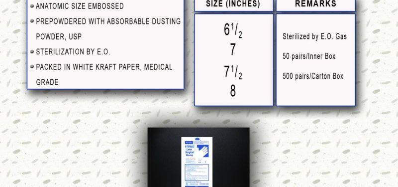 Disposable EWG Surgical Gloves  1 ewg_surgical_gloves_disposable